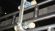 Remotely operated camera rail system